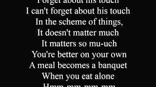 Forget about love - lyrics