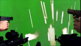 Guns Shooting Green Screen MLG effect +DOWNLOAD 2