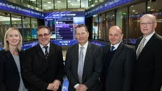One Media iP Group Plc opens the London Stock Exchange 18th April 2013