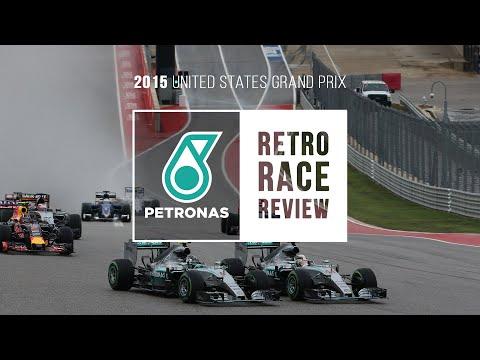 PETRONAS Retro Race Review ? F1 United States Grand Prix 2015