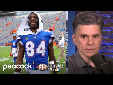 Does Jerry Jones have a Manziel-sized crush on UF's Pitts? | Pro Football Talk | NBC Sports