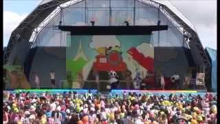 Vou dar a volta ao mundo no meu jipe - Banda do Panda (ao vivo no Festival Panda 2014)