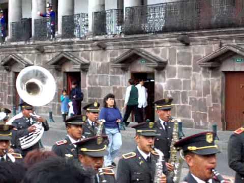 Quito, Ecuador – wisseling van de wacht