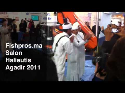 Fishpros.ma Salon Halieutis Agadir 2011