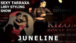 Juneline Sexy Tarraxa Lady Styling Show @ Copenhagen Kizomba Festival 2017 | HD 4K