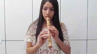 Mais perto eu quero estar - Flauta doce