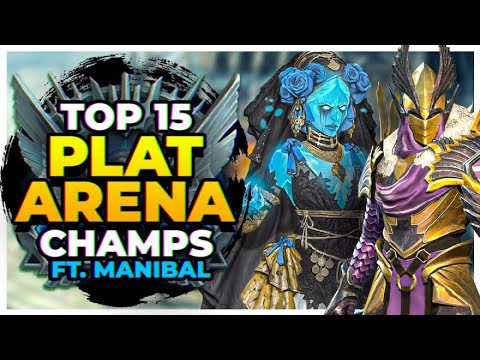 RAID | TOP 15 CHAMPS PLAT ARENA | ft Manibal!
