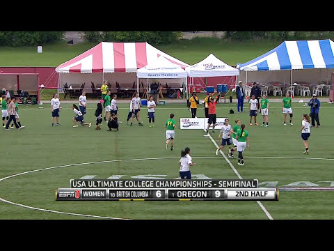 Video Thumbnail: 2015 College Championships, Women's Semifinal: Oregon vs. British Columbia