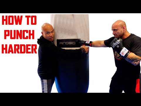 How to punch harder | Master Wong