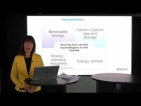 Enova | Webinar om Enovas forvaltning av Innovasjonsfondet