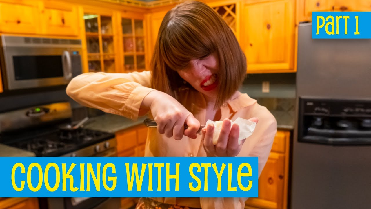 Making Upside-Down Apricot Tart, Part 1 • Cooking with Style
