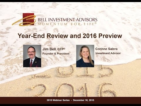 Year-End Review and 2016 Preview
