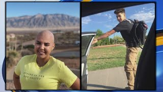 Teens battling cancer featured on city buses to get community's help