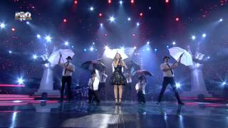 Ilinca Bacila - It's oh so quiet (Bjork) - Vocea Romaniei 2014 - LIVE 1 - Editia 11
