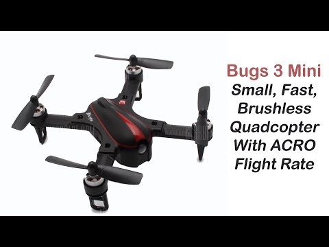 Bugs3 Mini - Brushless Quadcopter with Acro Mode