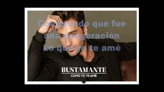 David Bustamante - Como yo te amé (Pistas Martín) KARAOKE