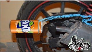 تغيير صوت درجة نارية بوسطة فانتا ....Tutorial change your bike sound