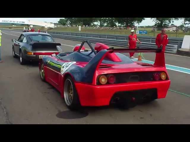 Ferrari 348 Barchetta Competizione Sound