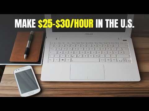 2 Work-At-Home Jobs Paying Up to $25-$30/Hour Hiring Now