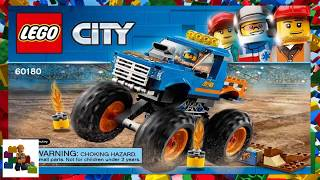 LEGO instructions - City - 60180 - Monster Truck