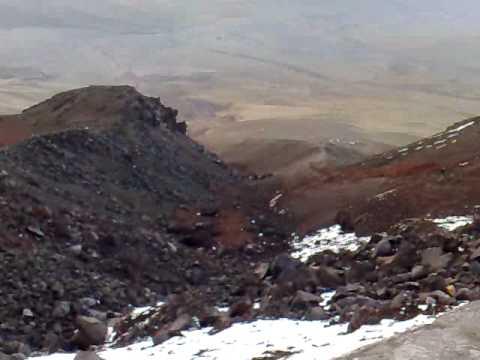 Refugio José Rivas-Volcán Cotopaxi Ecuador 2 de enero de  2010
