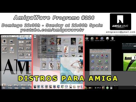 AmigaWave #226 - Distros para Amiga, noticias y resumen Retrocrypta NexT vs OSX.