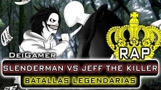 SLENDERMAN VS. JEFF THE KILLER | BATALLAS LEGENDARIAS RAP