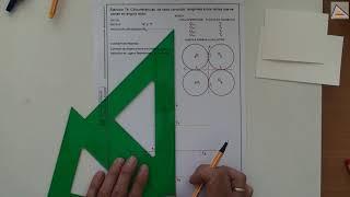 Imagen en miniatura para Circunferencias tangentes a dos rectas que se cortan en ángulo recto
