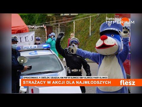 Flesz Gliwice / Strażacy w akcji dla najmłodszych