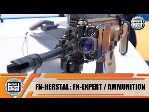 FN Herstal fire control unit - ballistic calculator - training system - ammunition Belgium firearms