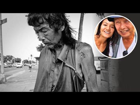 27-godišnja žena je upoznala prljavog beskućnika. Kad je ga prepoznala, ostala je u šoku