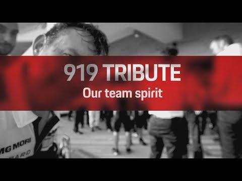 919 Tribute: Our team spirit
