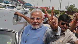 Prime Minister Narendra Modi arrives in Coimbatore amidst tight security