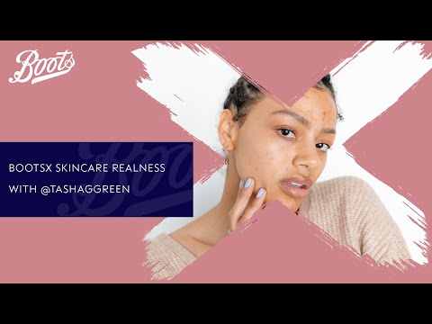 boots.com & Boots Promo Code video: Skincare Tutorial | Skincare Realness with @tashaggreen | Boots X
