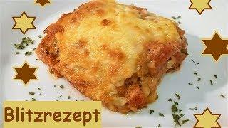 Blitzrezept: Sandwich-Lasagne, mal was schnelles herzhaftes!