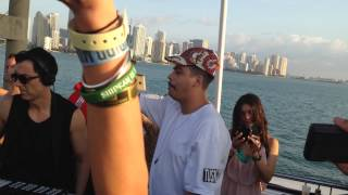 Dubfire B2B Seth Troxler Sunrise Cruise MMW March 28 2014 Miami