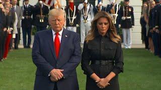 11 settembre, il minuto di silenzio alla Casa Bianca