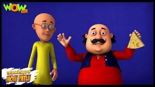 Motu Patlu New Episode | Cartoons | Kids TV Shows | Cheese Rat Trap | Wow Kidz