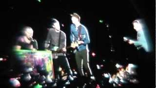 Coldplay, Speed of Sound @Live Nice 2012