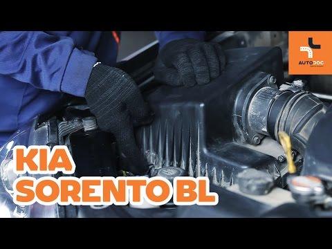Ako vymenit vzduchovy filter na KIA SORENTO BL NAVOD   AUTODOC