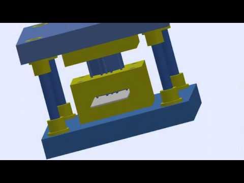 Delme Kesme Kalıbı Animasyonu   YouTube