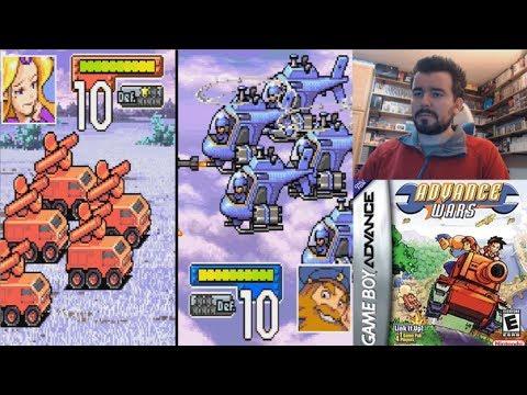 ADVANCE WARS (Game Boy Advance) - Gameplay en Español GBA
