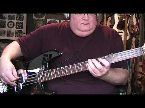 America Lonely People Bass Cover with Notes & Tab