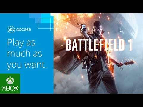 Battlefield 1: Now Available in the EA Access Vault