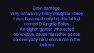 Brain Damage Song Lyrics by - Eminem
