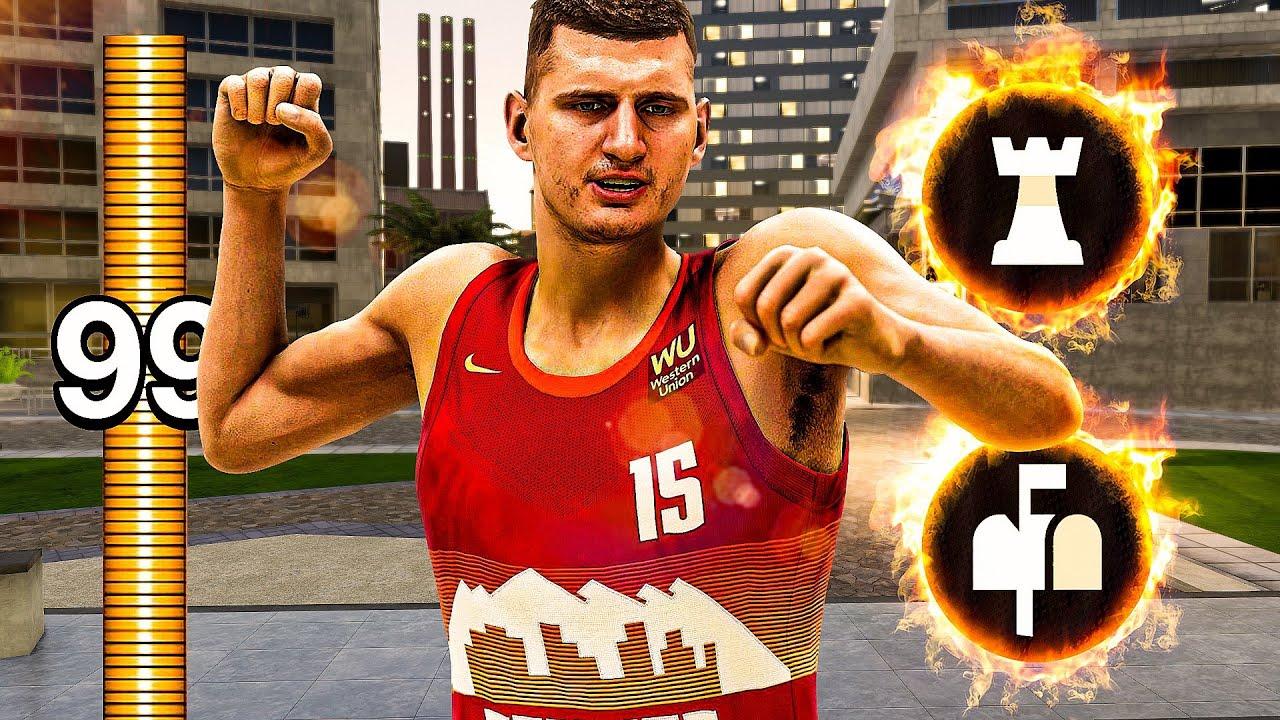 Dignify2K - NIKOLA JOKIC POST SCORING BUILD is UNSTOPPABLE in NBA 2K21