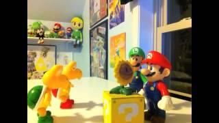 Super Mario bros. adventure stop motion