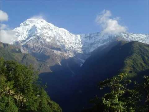 네팔 안나푸르나 트레킹 – trekking in Nepal from Pokhara to Aanapurna Base Camp