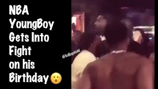 NBA YoungBoy Gets Into Fight On His Birthday