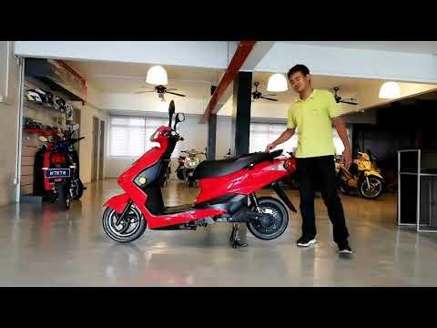 Penerangan mengenai Motosikal elektrik Beta ZES
